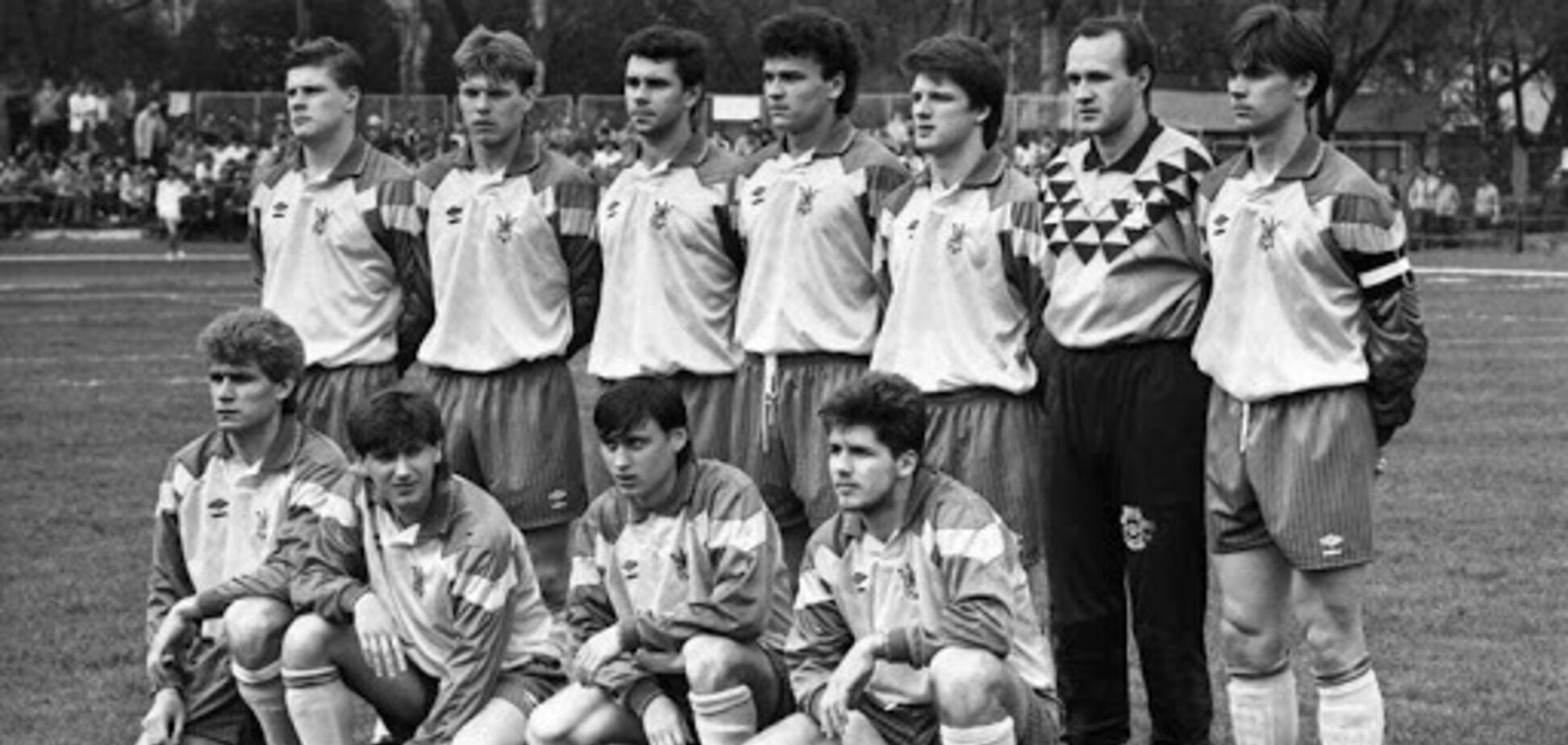 Сборная Украины в 1992 году