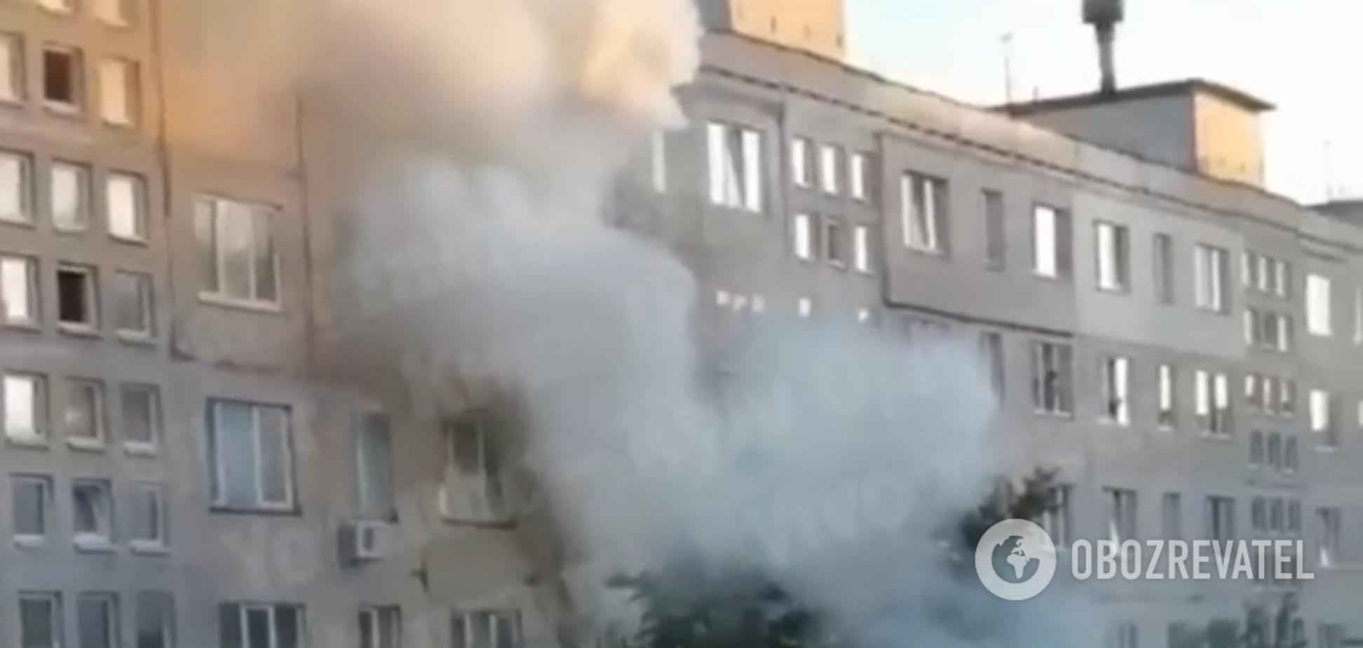 У Києві горіла квартира: є жертва. Відео