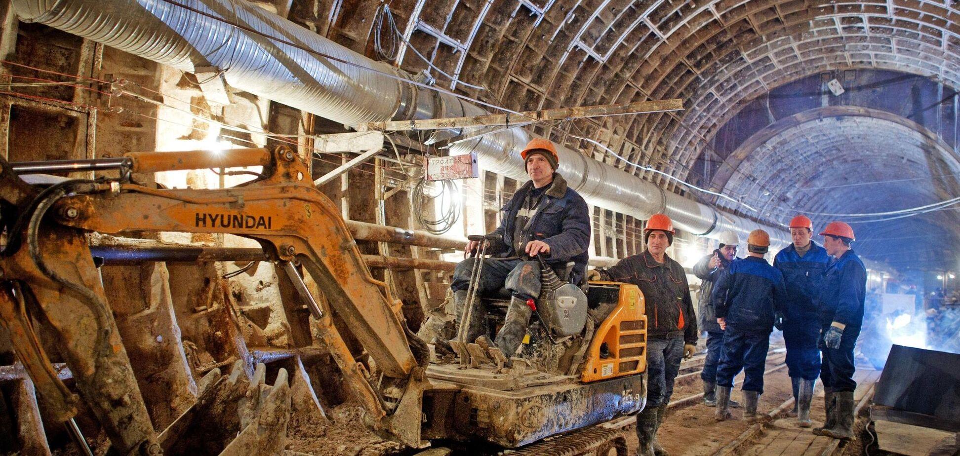 строительство метрополитена