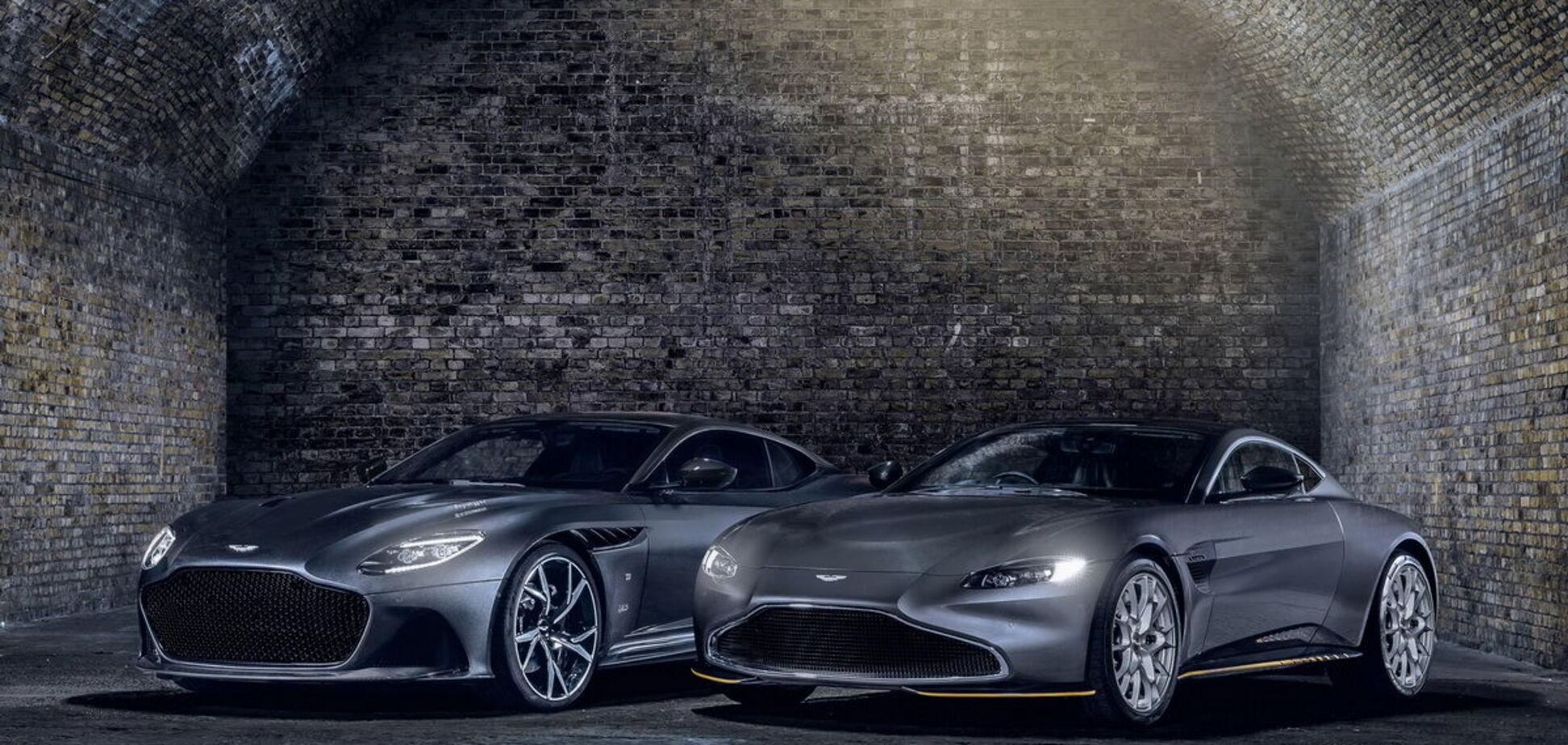 Aston Martin випустить 'шпигунські' версії спорткарів