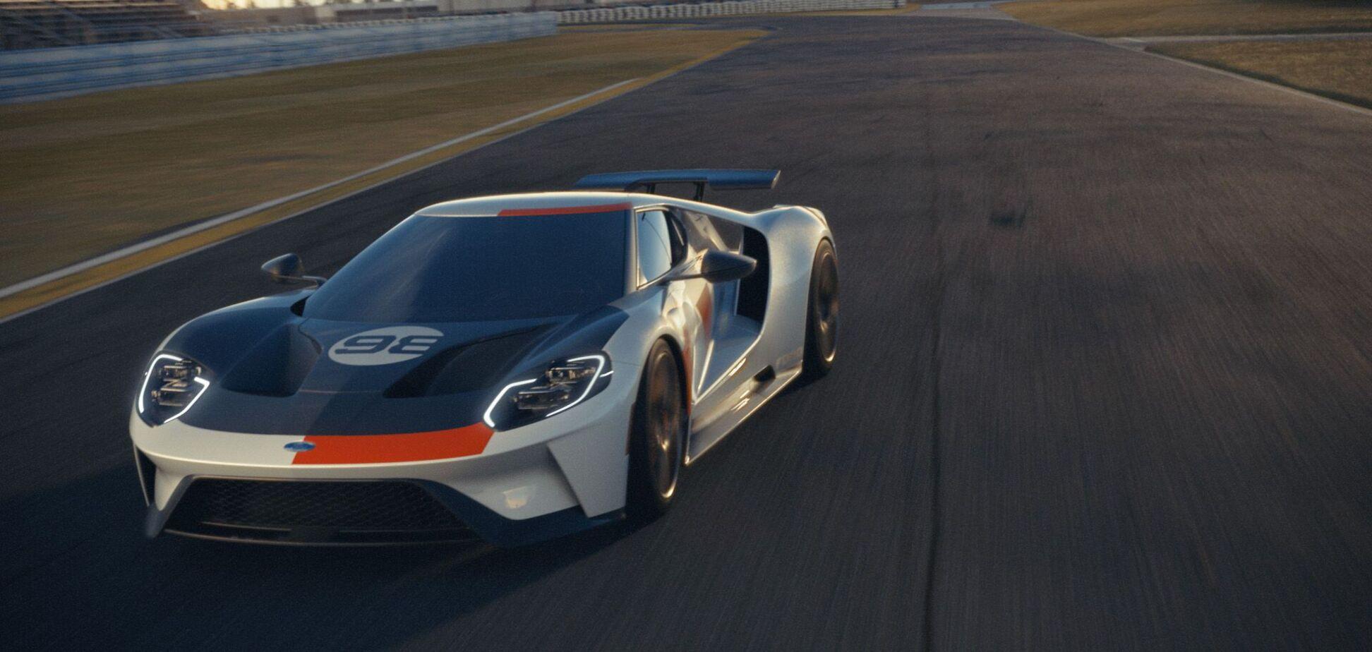 Ford отметил историческую победу GT40 выпуском спецверсии