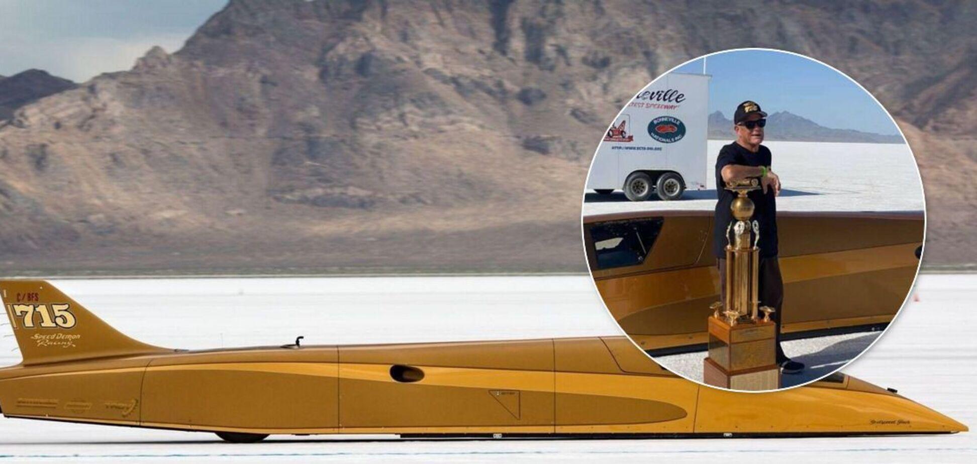 71-річний американець побив рекорд швидкості