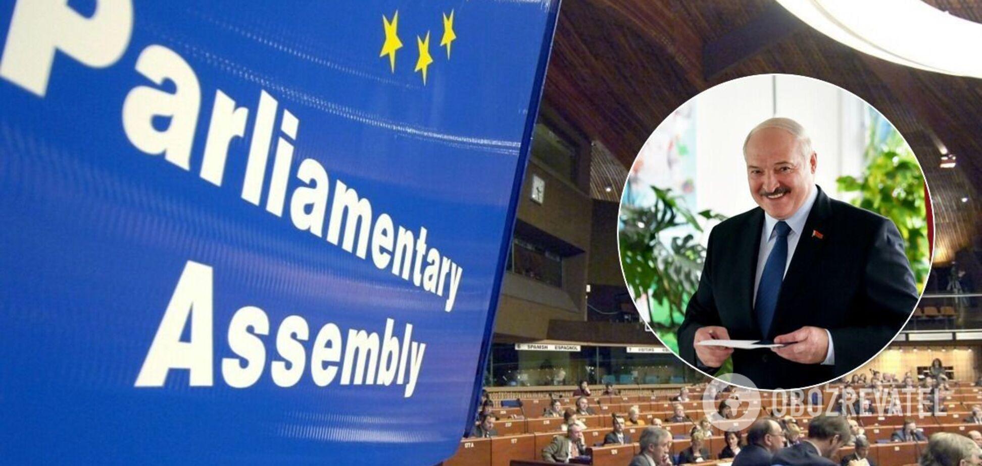 Україна в ПАРЄ ініціювала декларацію щодо Білорусі: список вимог до Лукашенка та Зеленського