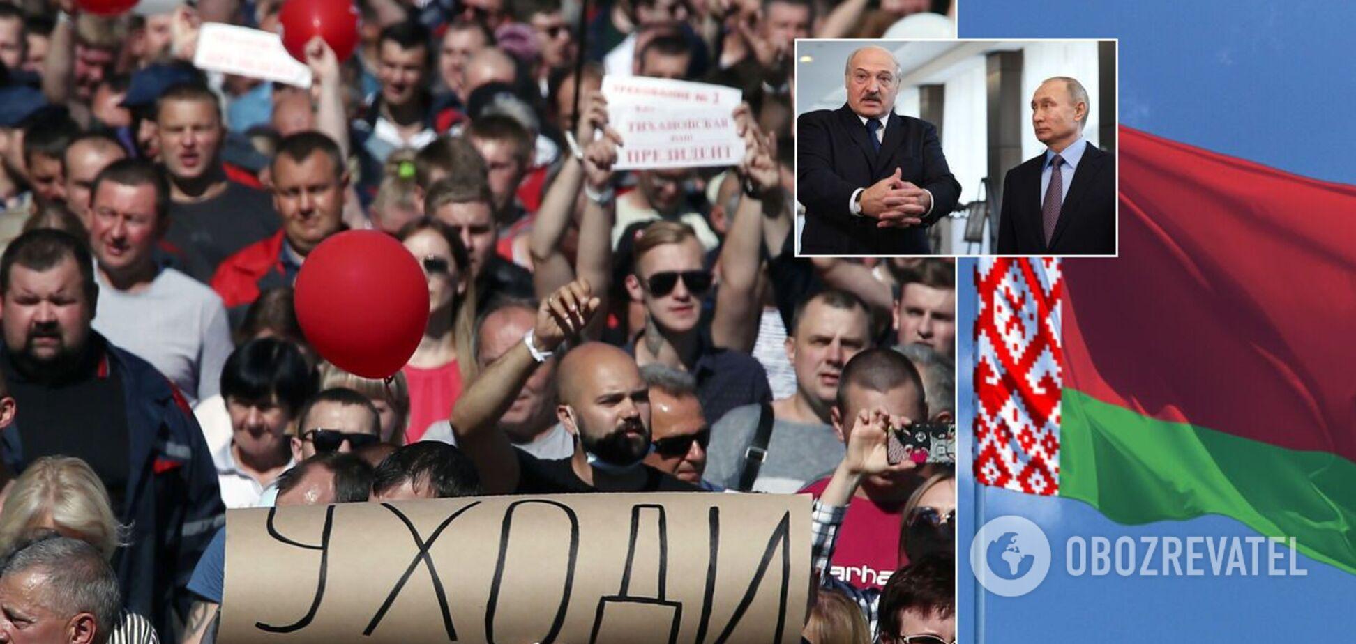 Олександр Лукашенко може втекти через протести в Білорусі
