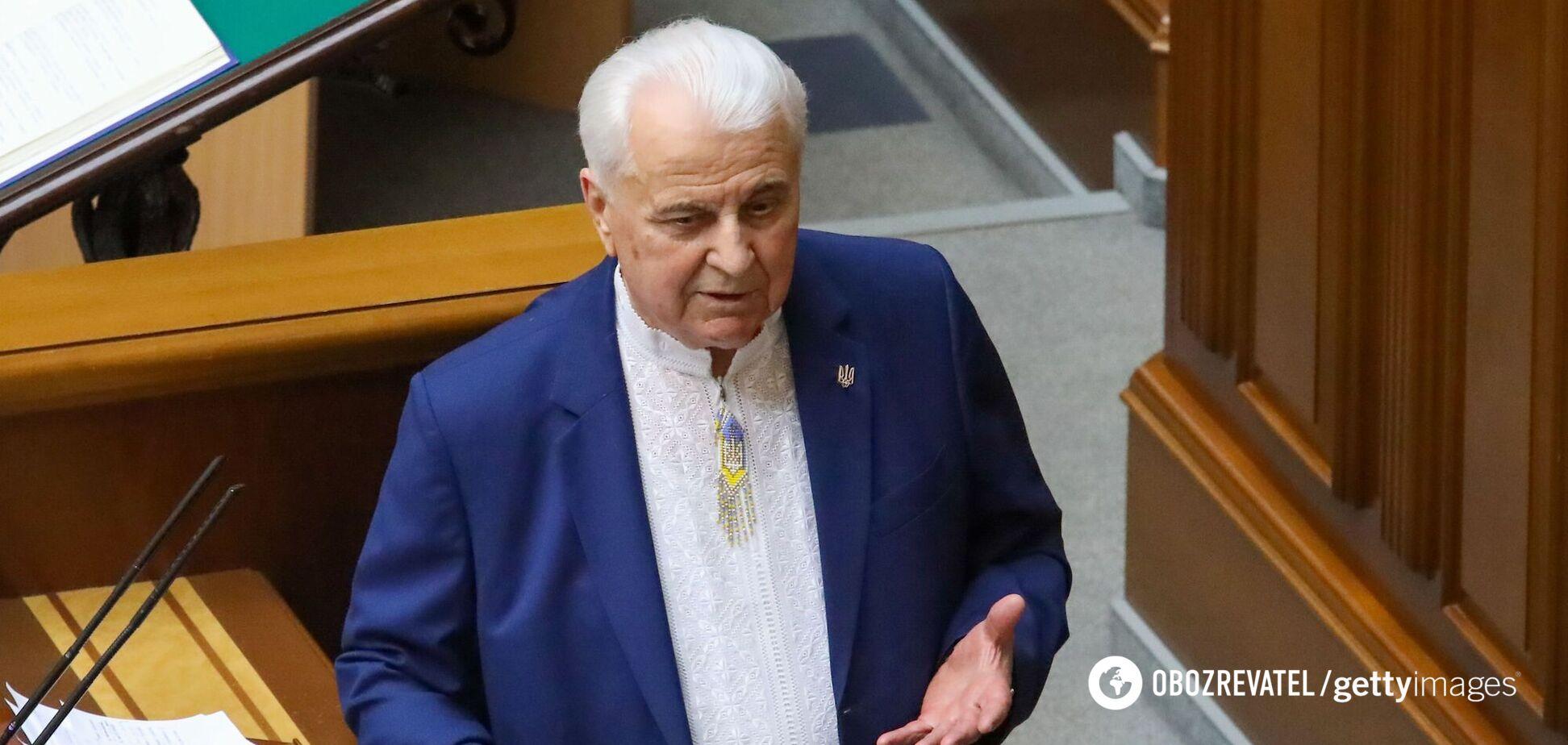 У Раді навіть близько немає голосів для зміни Конституції, – Кравчук