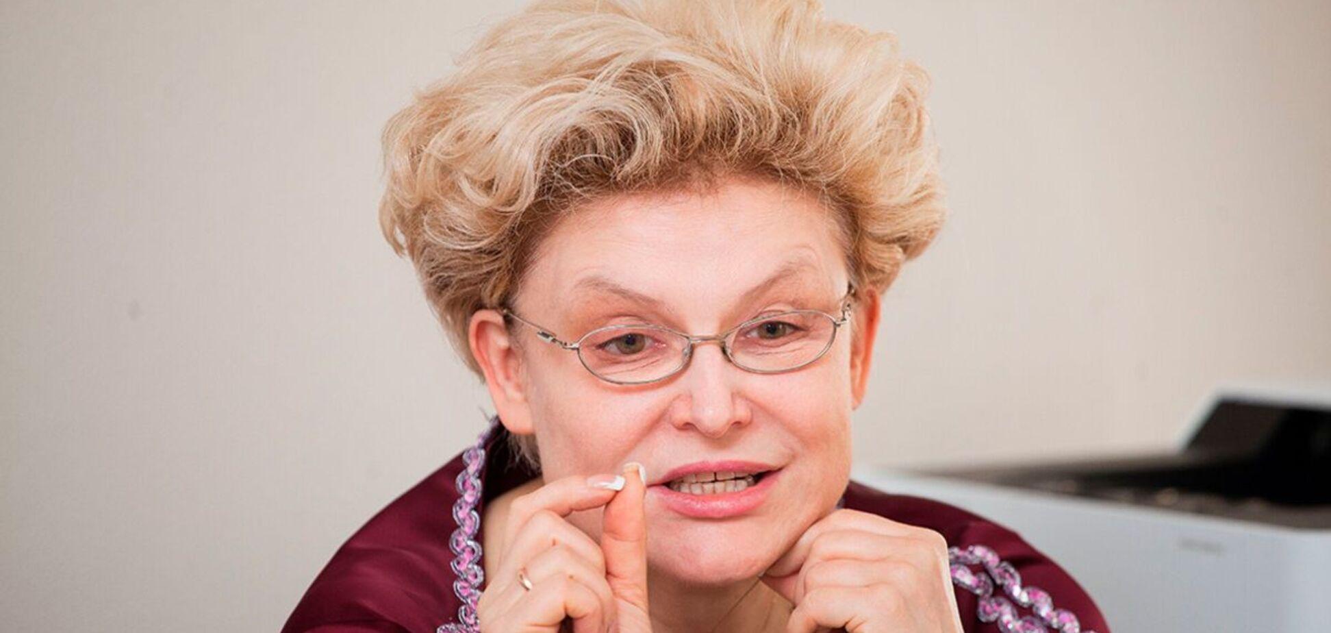 Елена Малышева выразила 'огромную благодарность' коронавирусу