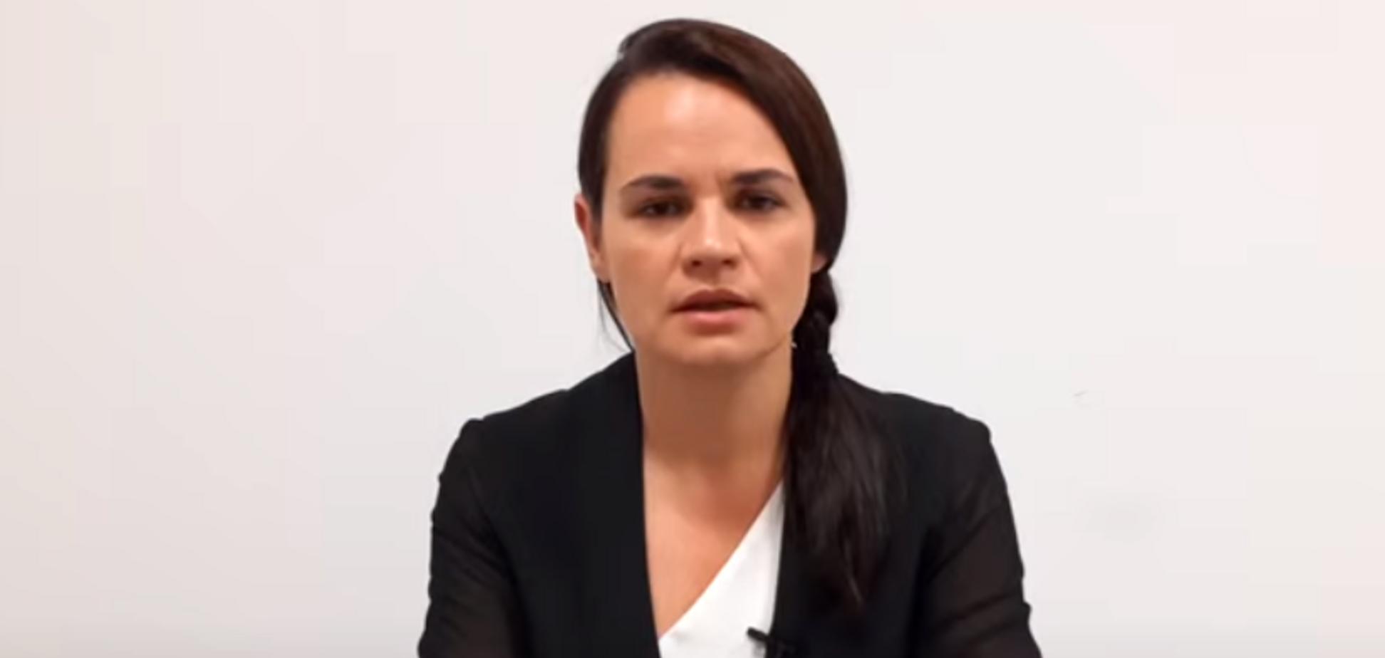 Тихановська записала нове відеозвернення до білорусів