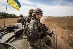 Защитники Украины на Донбассе