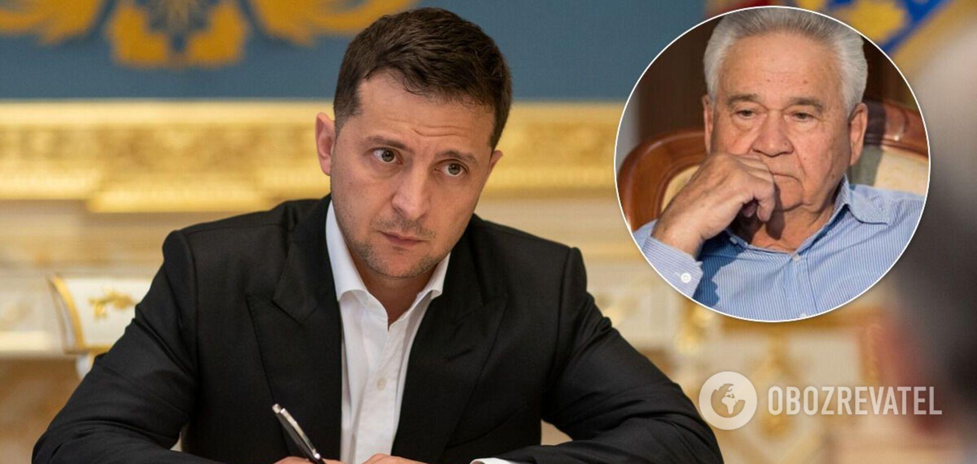 Зеленский ввел 87-летнего Фокина в ТКГ по Донбассу