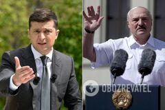 Лукашенко плюнул в Зеленского