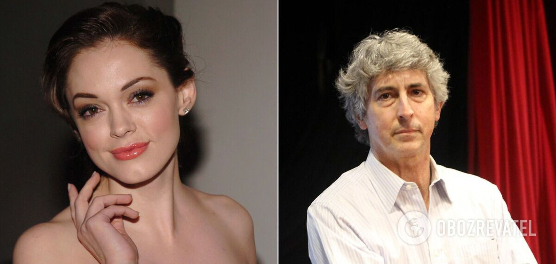 Роуз МакГоуэн обвинила режиссера Александра Пэйна в сексуальных домогательствах