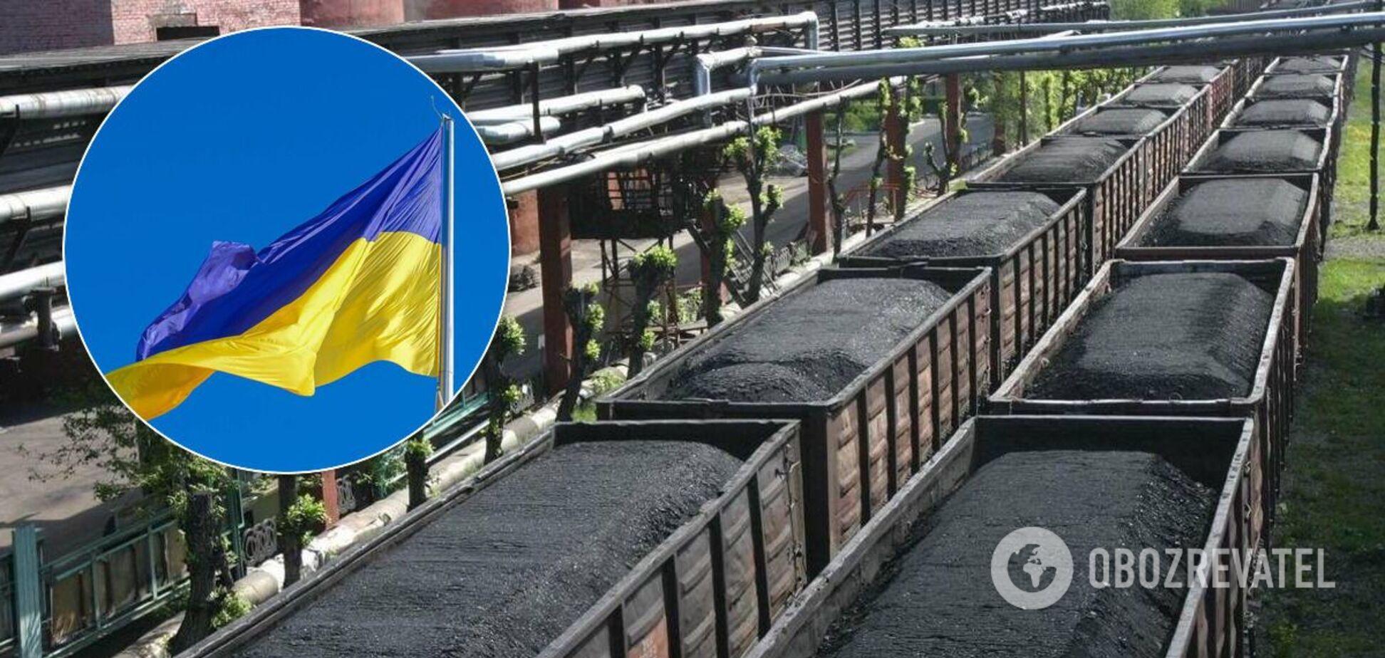 Запасів вугілля на складах ТЕС значно менше норми
