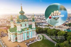 Коронавирус в Киеве не хочет отступать