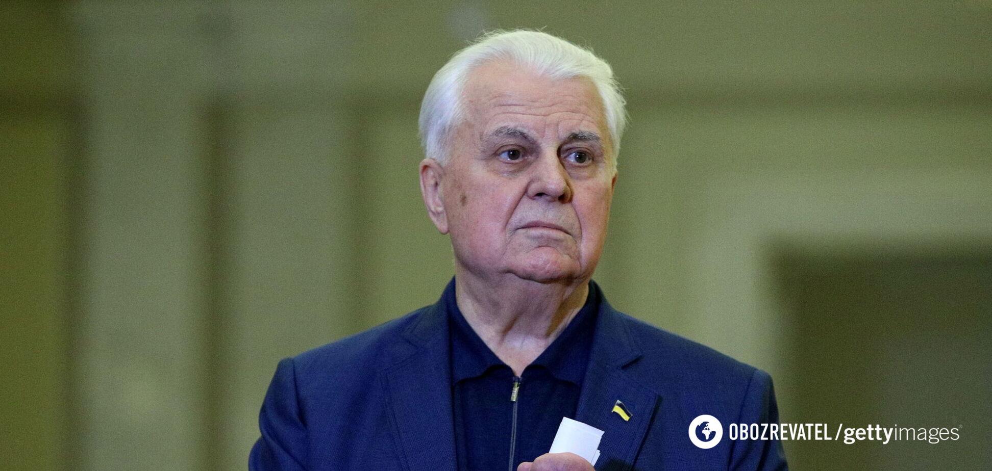 Кравчук заявил, что большинство жителей Донбассе не хотят в Украину