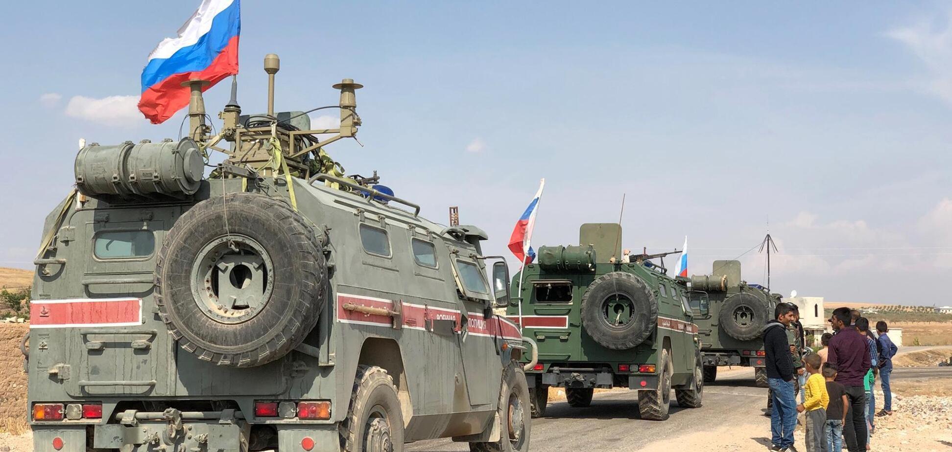 В Сирии подорвалась российская автоколонна