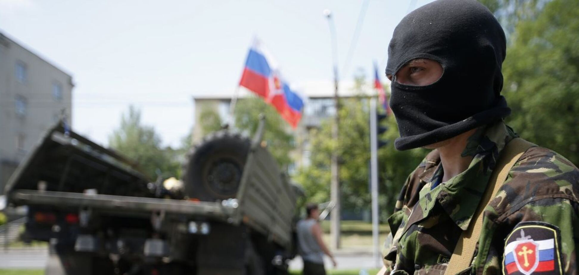 Російський терорист на Донбасі