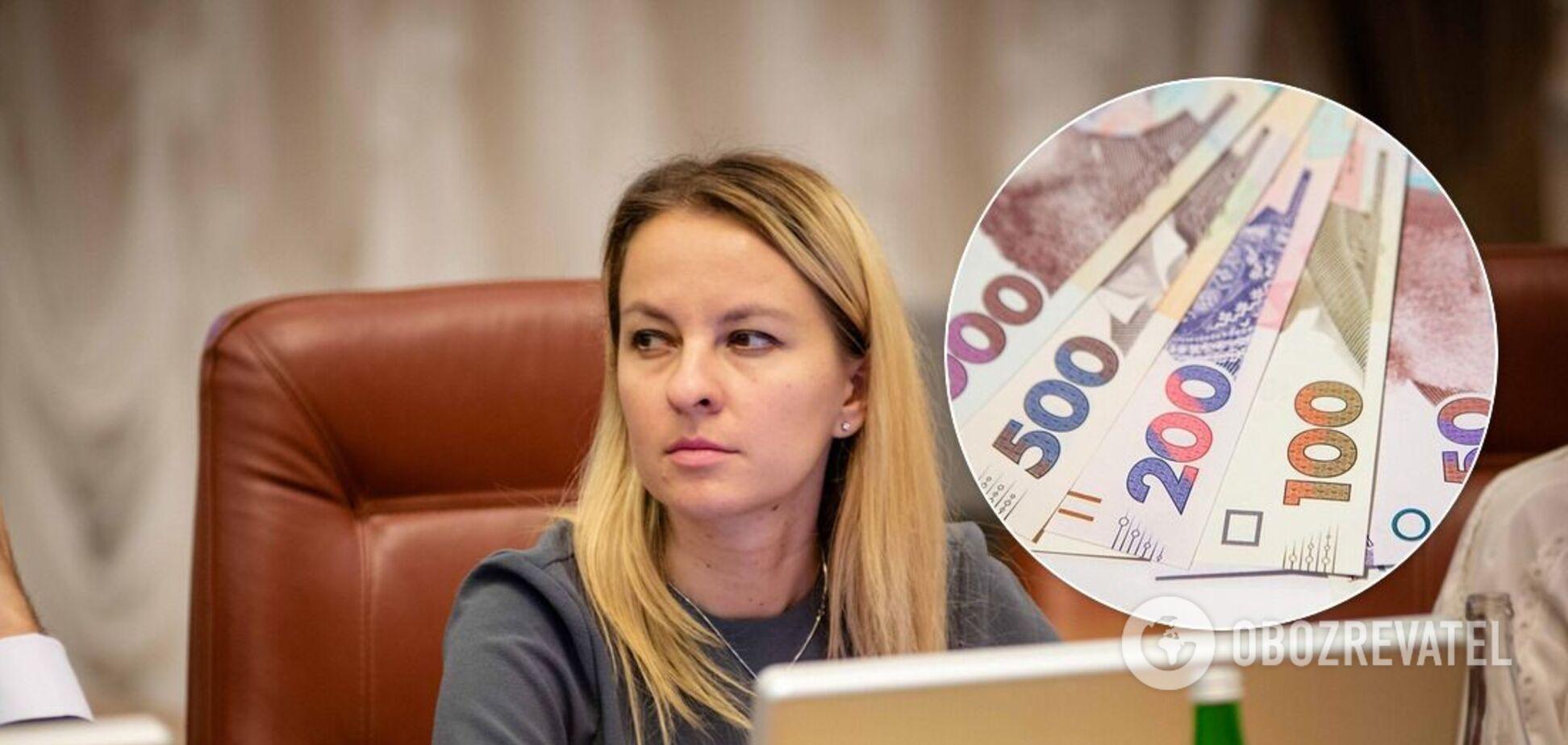 Зарплата Юлии Соколовской