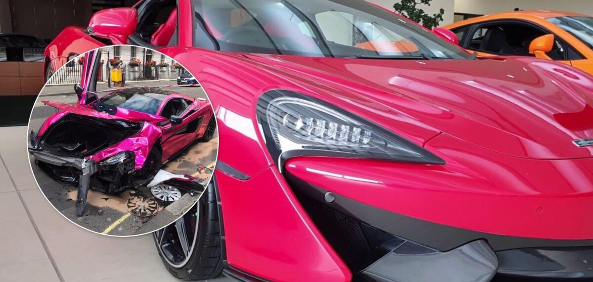 McLaren за $200 000 попал в ДТП с VW Golf