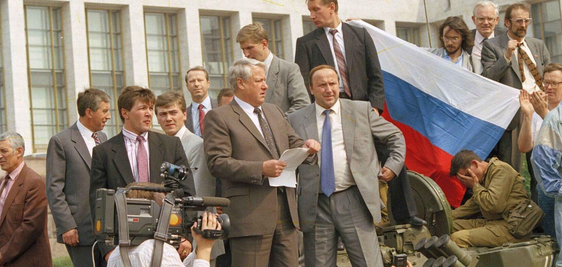 Россия и Беларусь – это прошлое, которое рассыпается на наших глазах