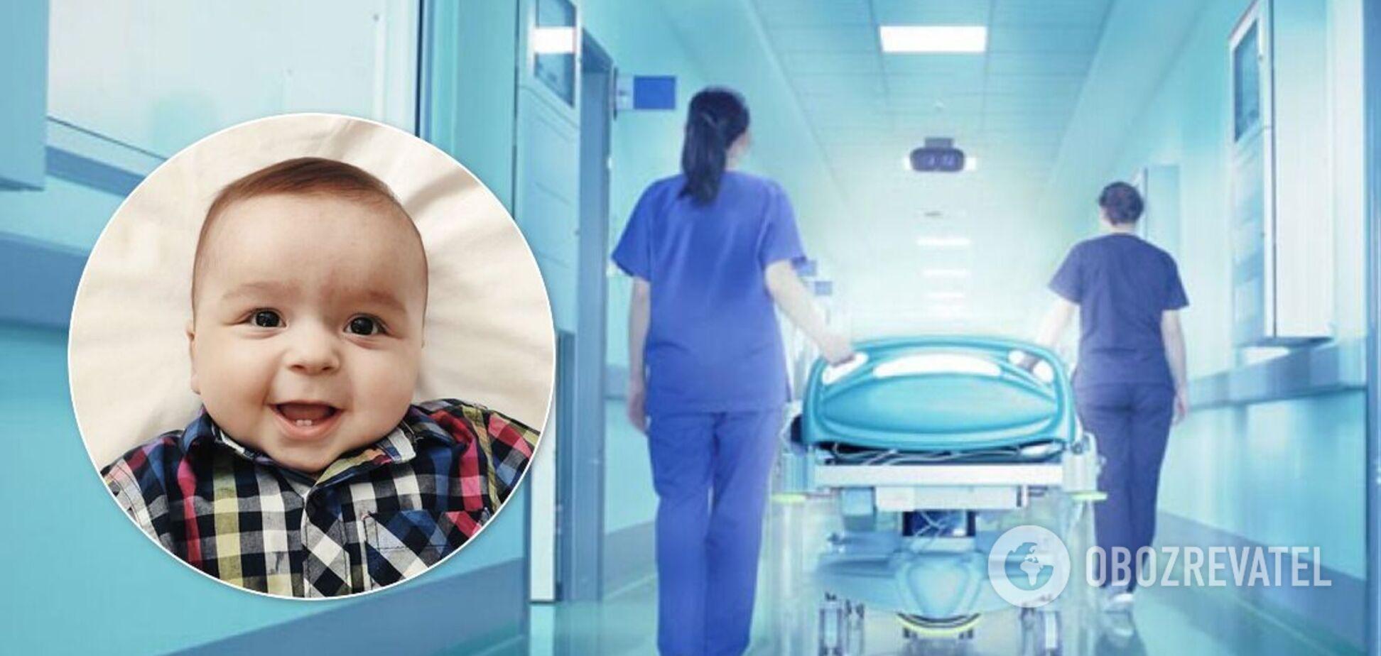 10-місячний малюк бореться з пухлиною мозку: у мережі попросили про допомогу