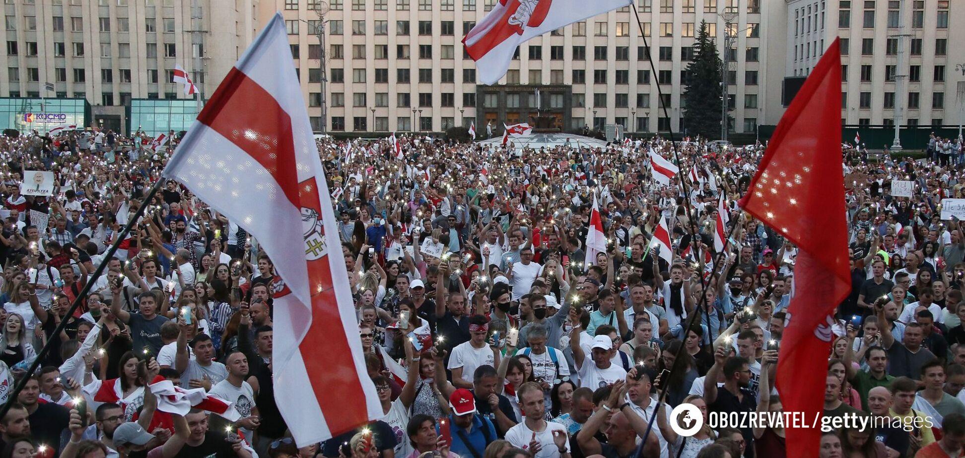 Российская пропаганда отправляет украинских националистов дестабилизировать Беларусь