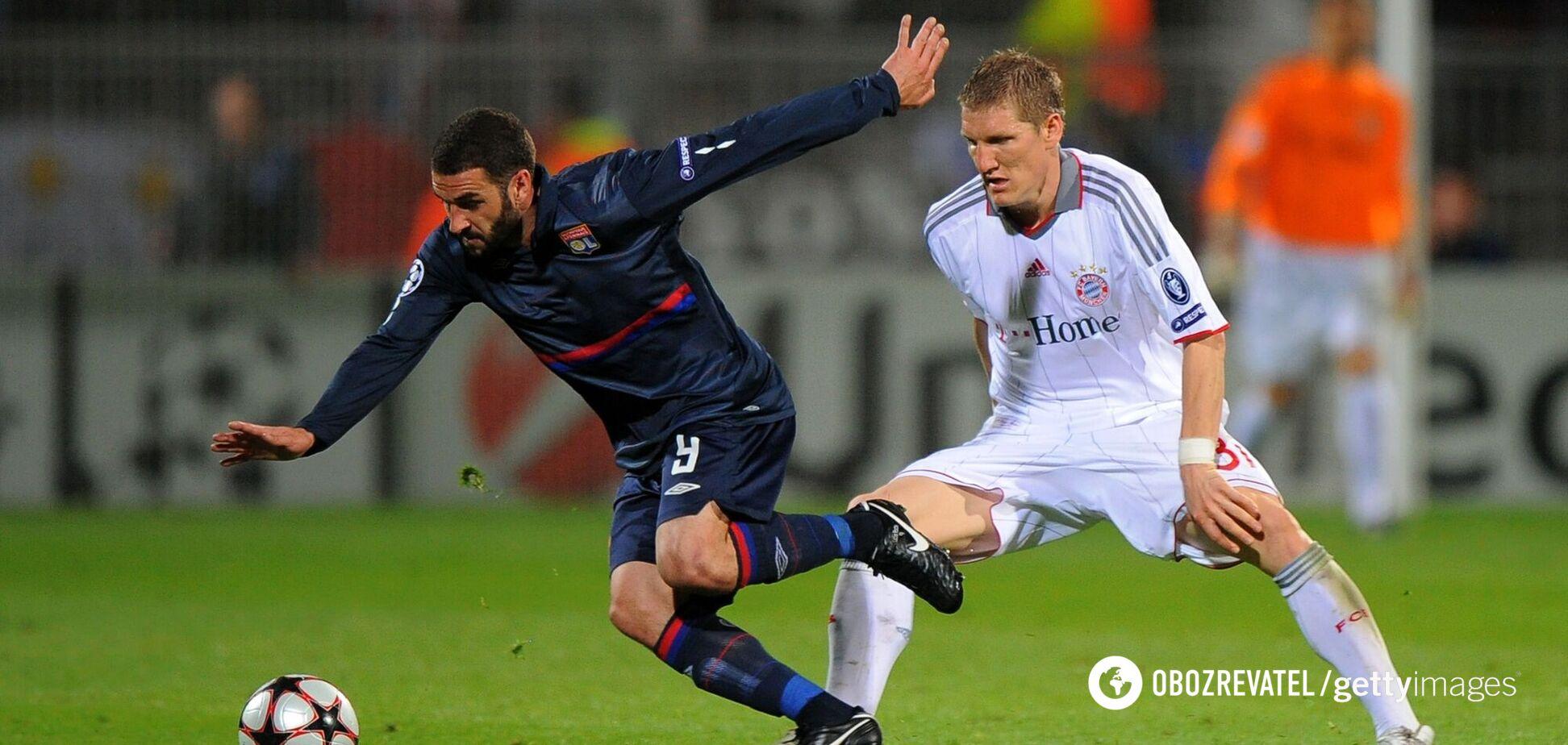 'Лион' - 'Бавария' в полуфинале Лиги чемпионов в 2010 году