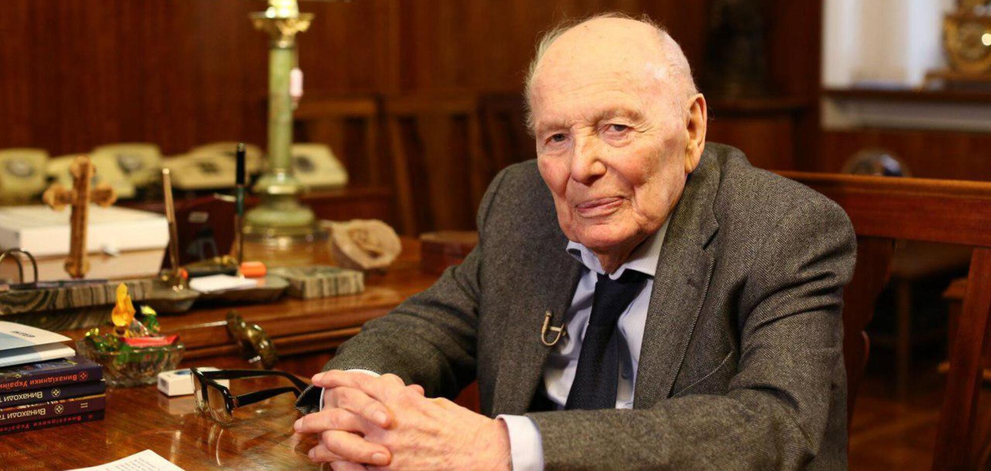 На 102 году жизни скончался известный украинский ученый Борис Патон