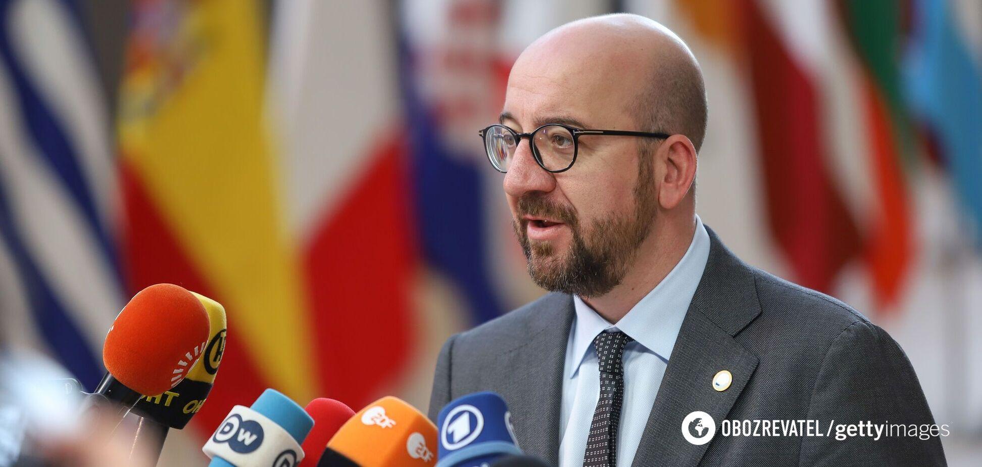 Голова Європейської ради Шарль Мішель, заявив, що ЄС не визнає результати виборів у Білорусі