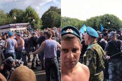 В день ВДВ в Москві десантники побилися з росгвардійцями