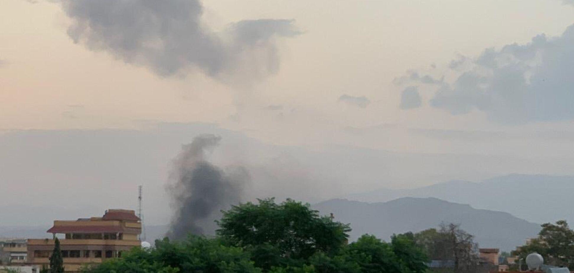 Взрыв в Джелалабаде