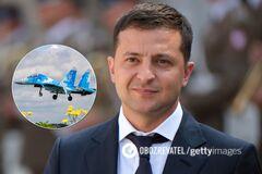 Зеленский поздравил воинов Воздушных сил ВСУ и затронул тему мира