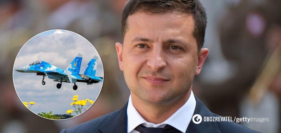 Зеленський привітав воїнів Повітряних сил ЗСУ й зачепив тему миру