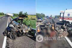 В ДТП погибли двое парней и две девушки