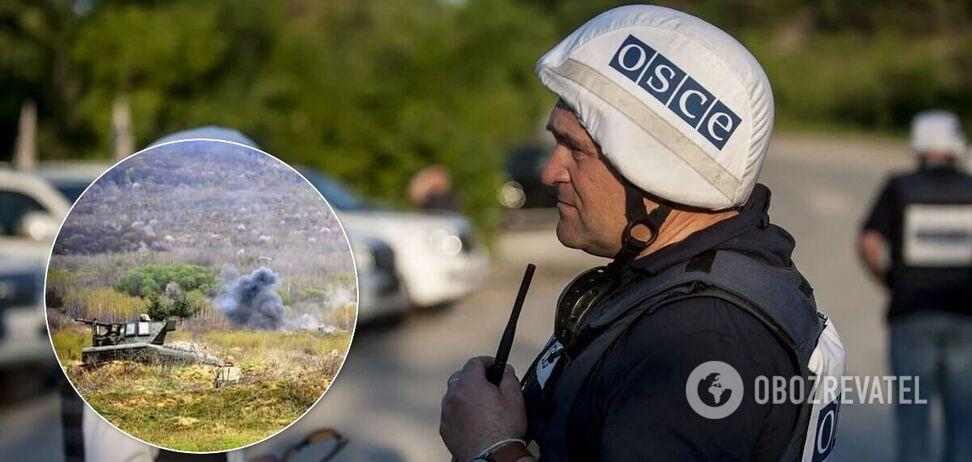 Порушення режиму припинення вогню на Донбасі