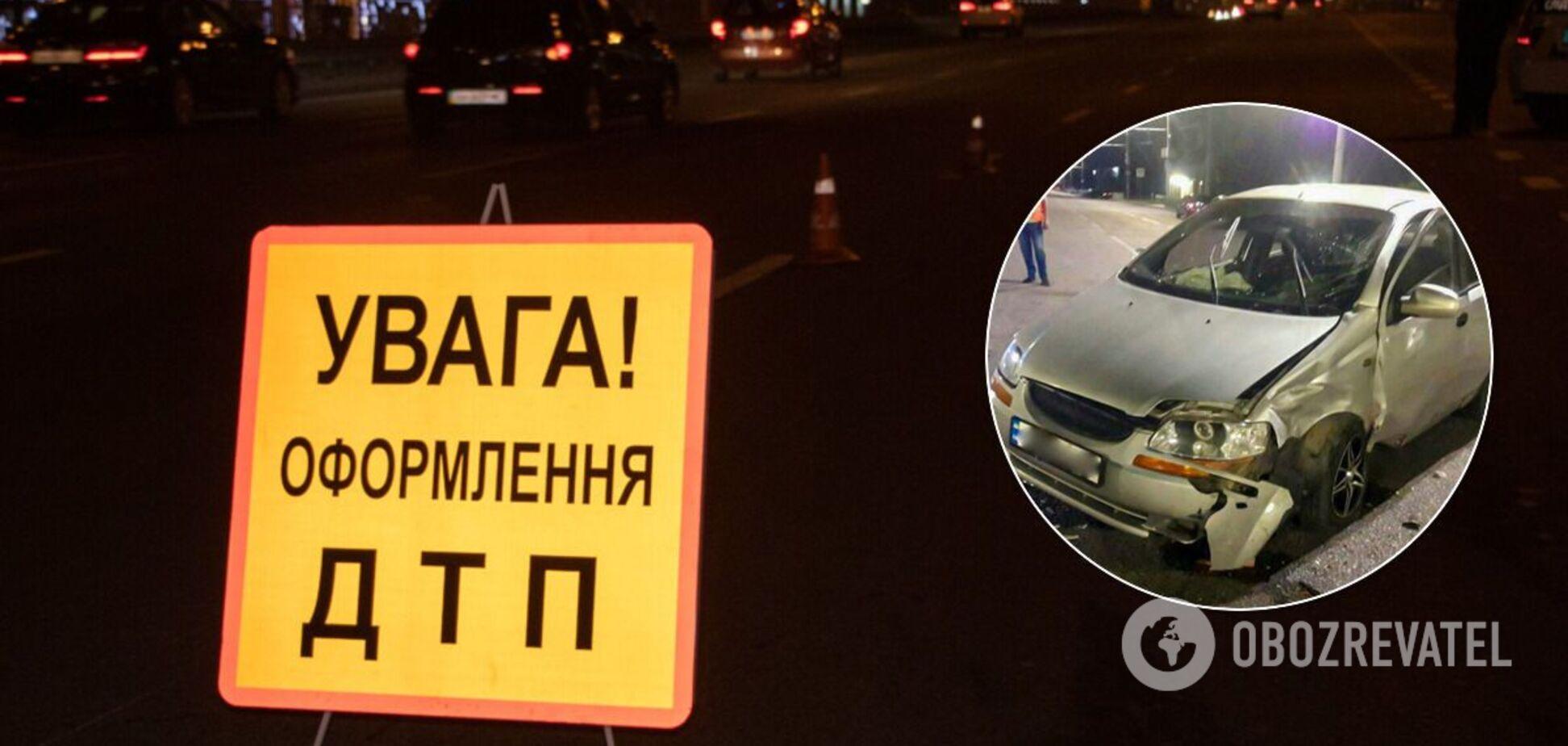 У Дніпрі п'яний водій іномарки влаштував масову ДТП: є постраждалий. Фото