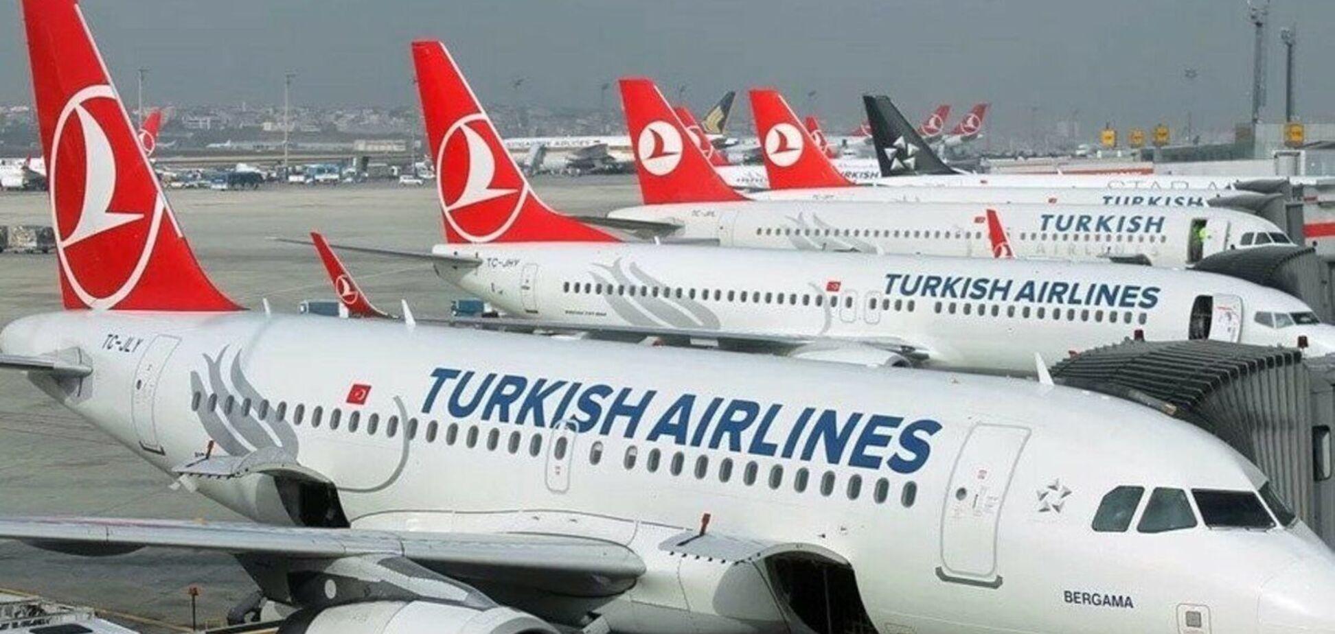 Turkish Airlines будет летать из Стамбула в Харьков, Запорожье и Херсон