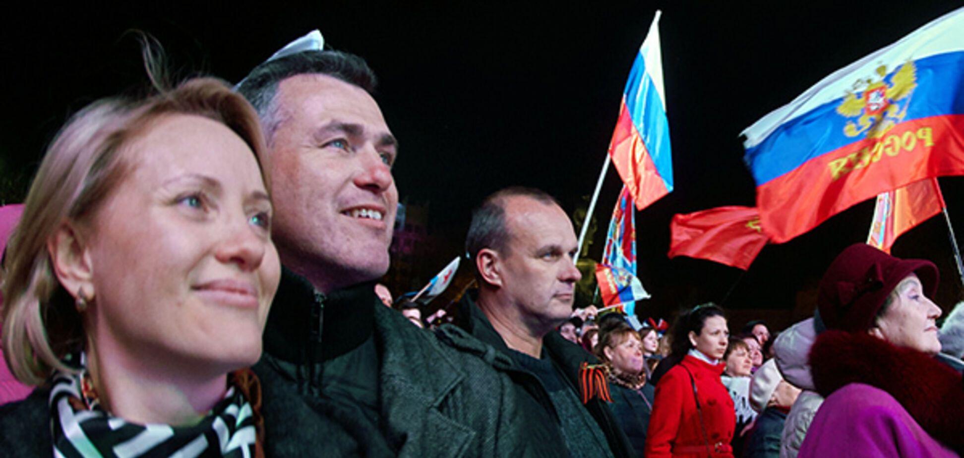 Пророссийские ребята в Крыму отчаянно любят двойные стандарты