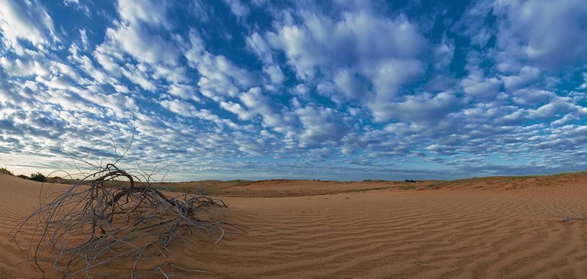 7 природних чудес України: Олешківські піски