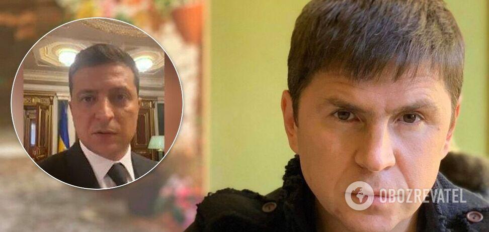 Михаил Подоляк рассказал, кто принял решение записать видео по требованию луцкого террориста