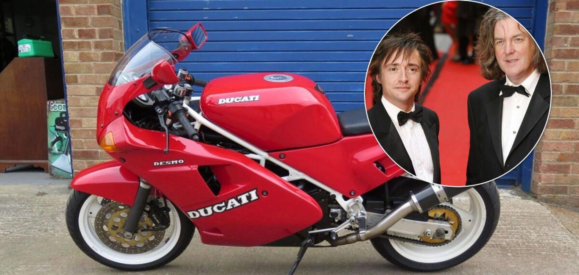Джеймс Мей і Річард Хаммонд володіли одним і тим самим мотоциклом