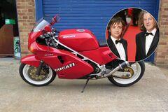 Джеймс Мэй и Ричард Хаммонд владели одним и тем же мотоциклом