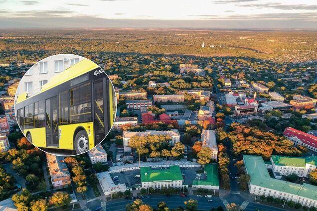 Перша партія нових тролейбусів 'Богдан' уже в Полтаві