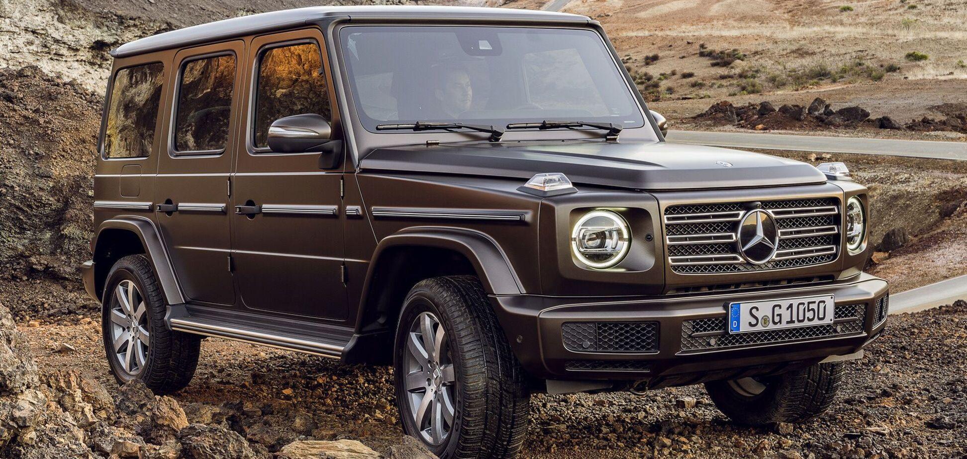 В Германии могут запретить автомобили Mercedes-Benz