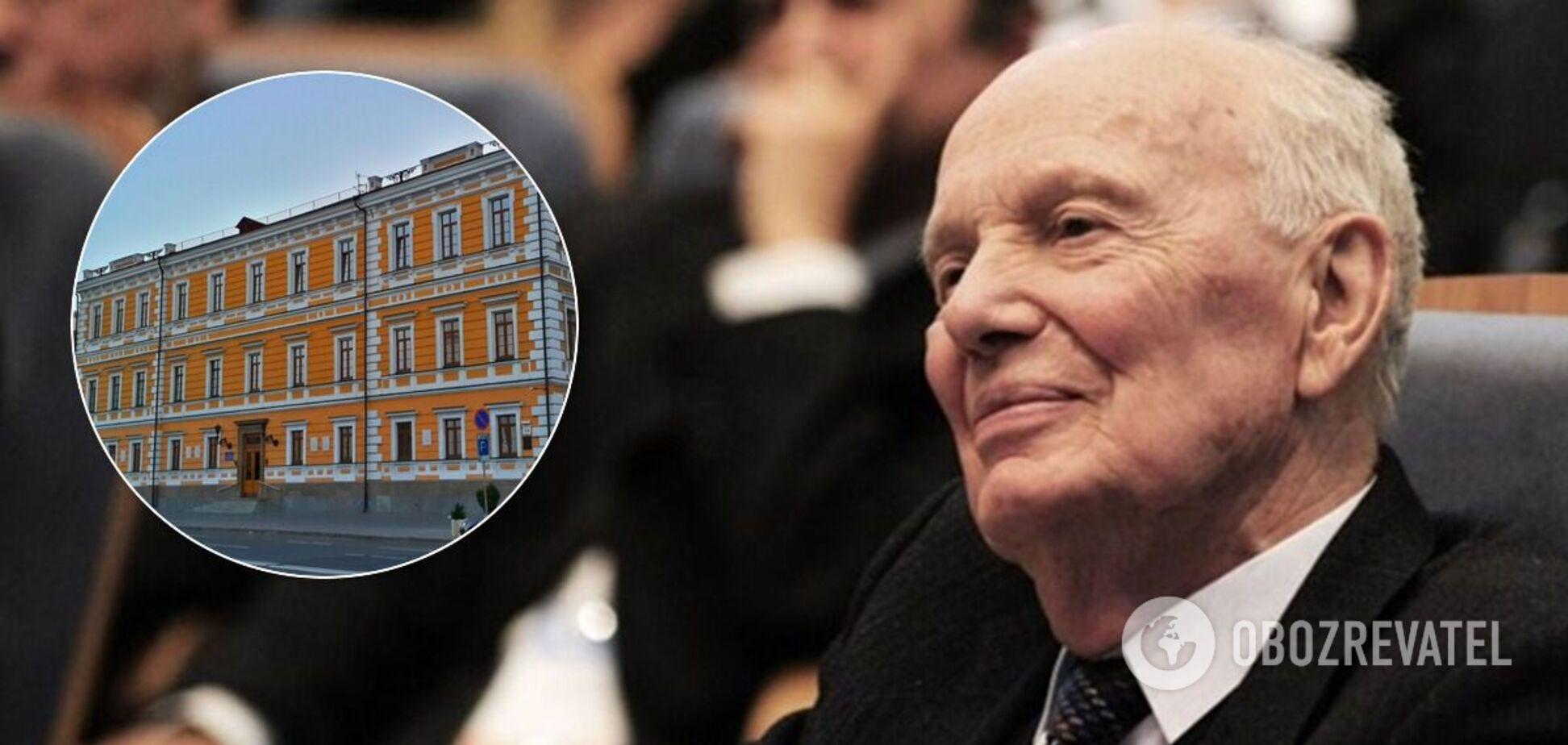 Президент НАН Борис Патон умер в возрасте 101 года