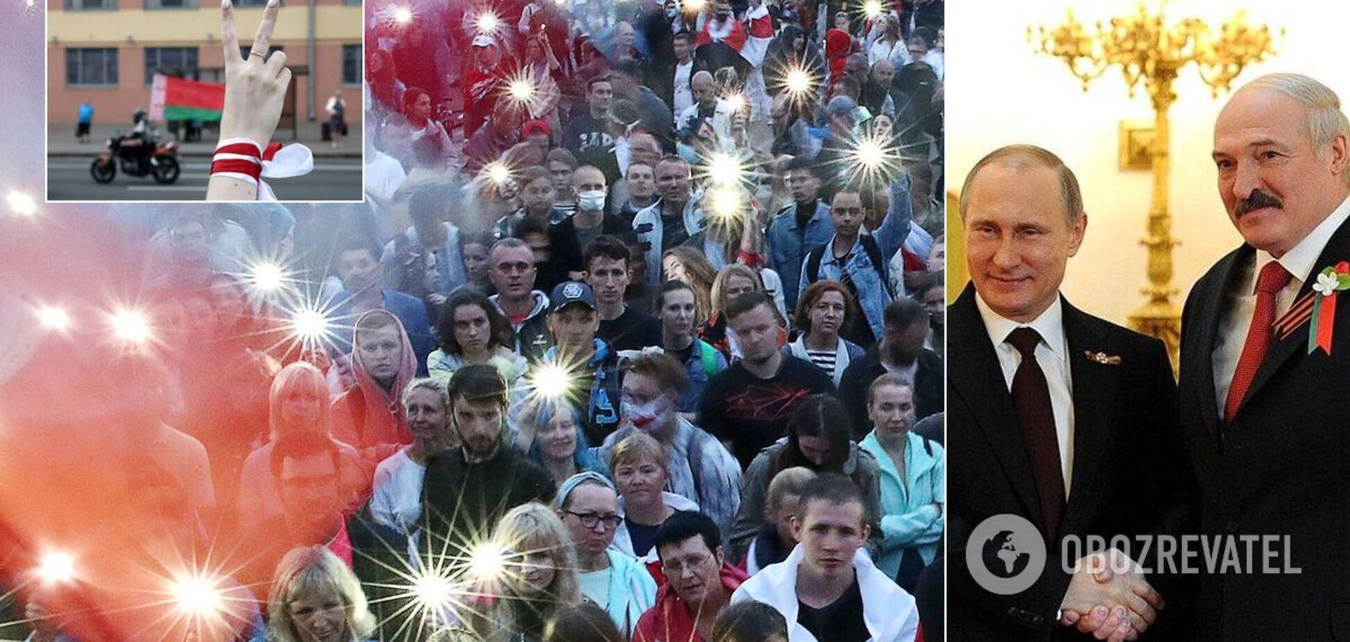 Курносова: в Беларуси появились 'черные человечки' Кремля, протесты могут начаться и в РФ
