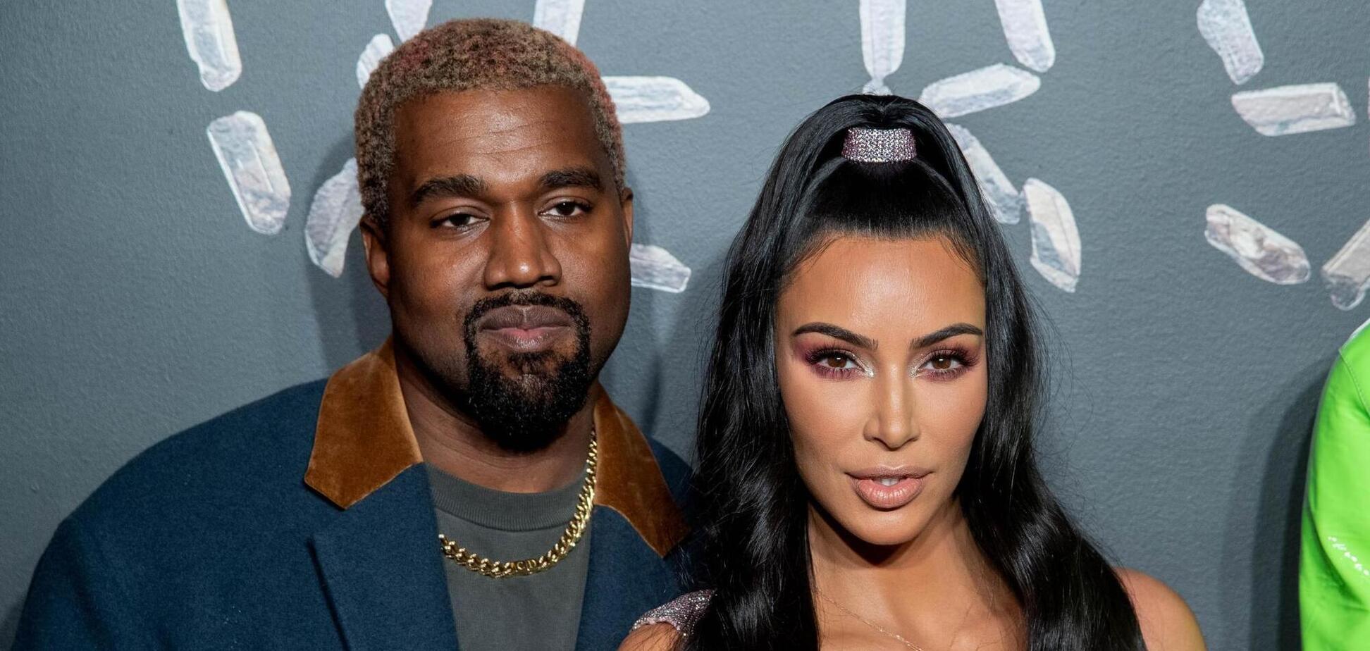 Канье Уэст и Ким Кардашьян поцелуем на камеру опровергли слухи о разводе