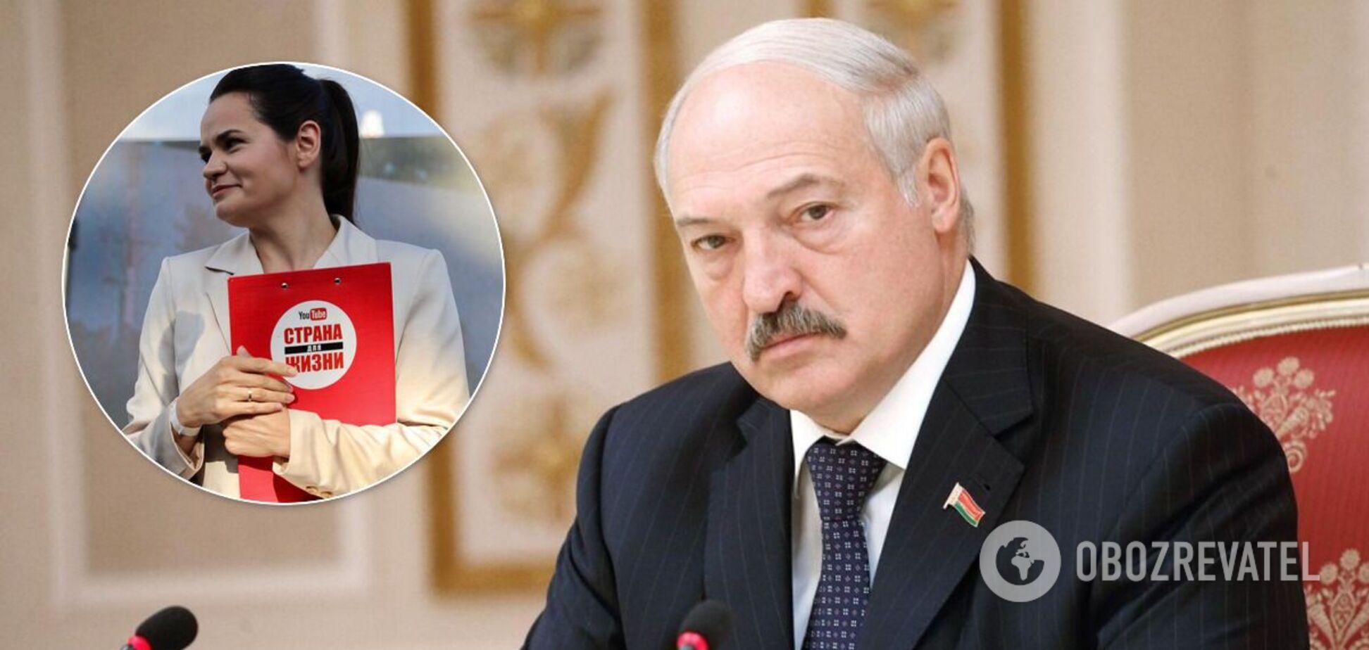 Лукашенко і Тихановська
