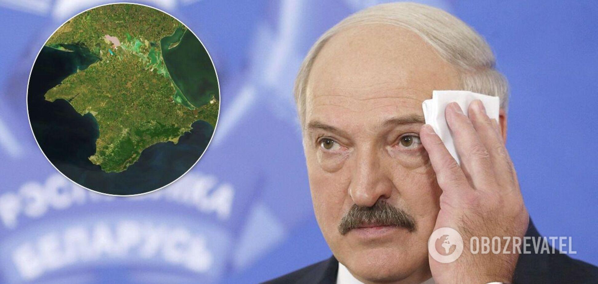 Лукашенко висловився про Крим