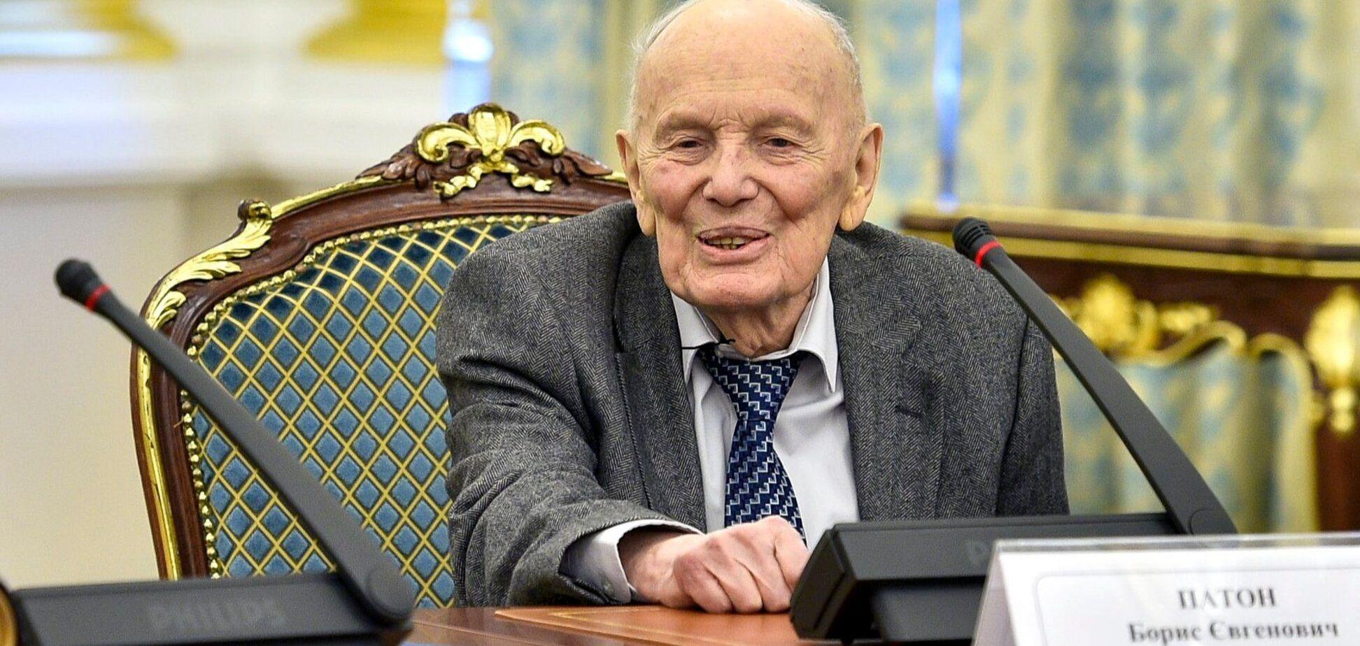 Борис Патон был госпитализирован перед смертью