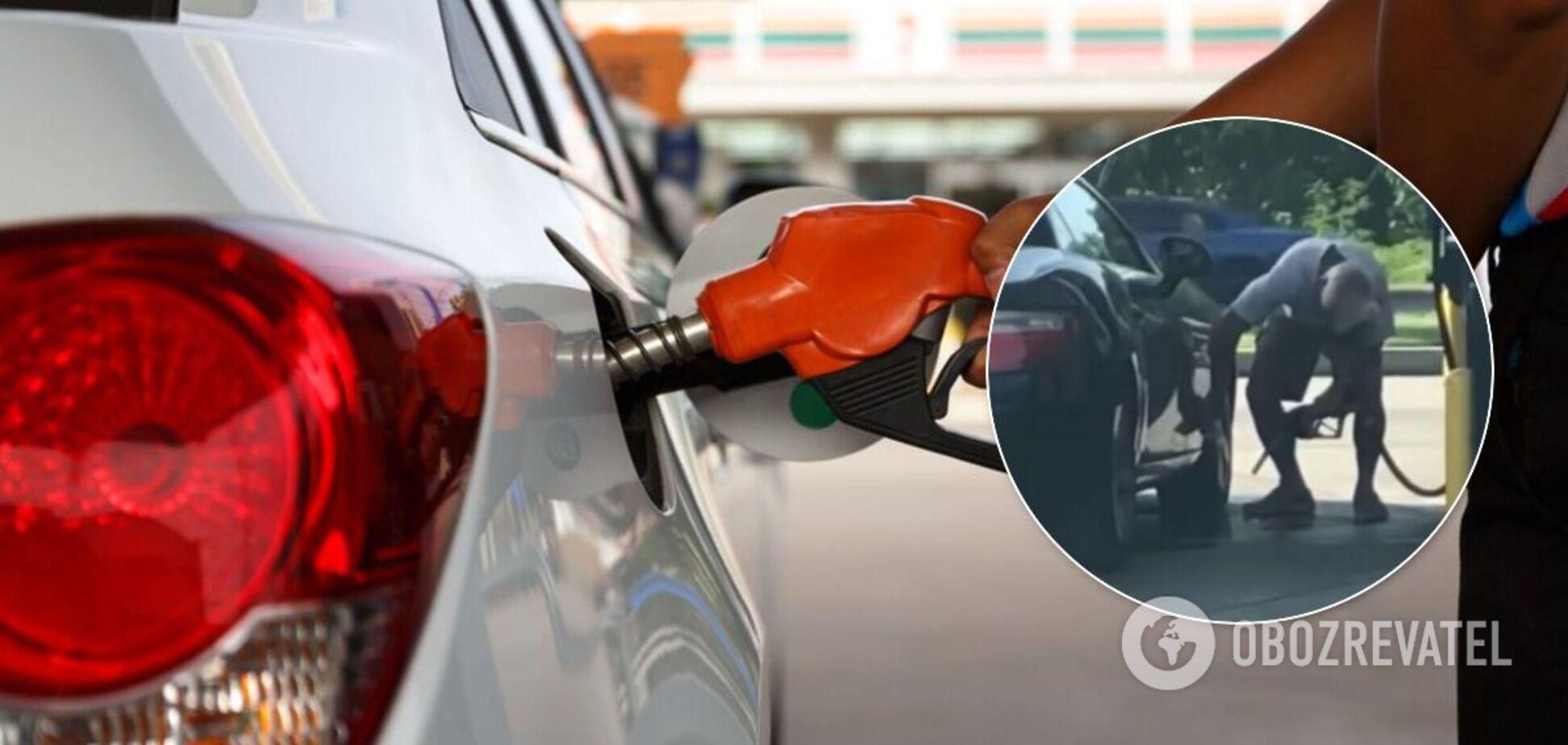 Владелец Mercedes помыл авто бензином: что из этого вышло